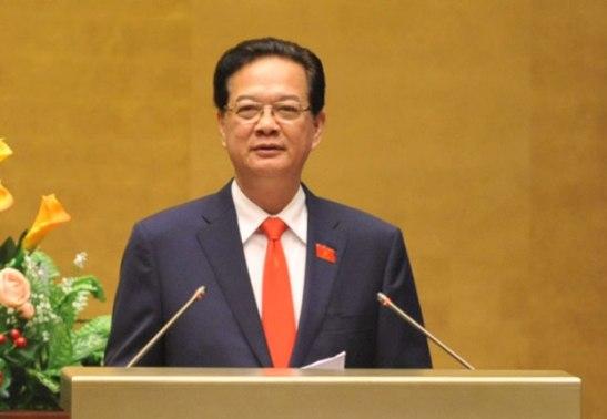 Nguyen Tan Dung tai QH